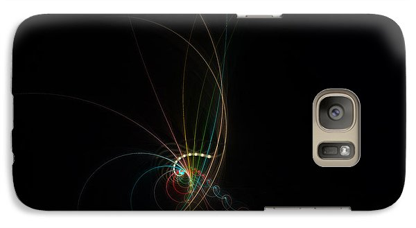 Galaxy Case featuring the digital art Pure Of Soul by Hanza Turgul