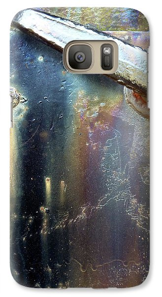 Galaxy Case featuring the photograph Pure Patina by Newel Hunter