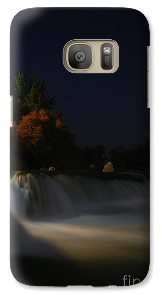 Galaxy Case featuring the photograph Pure Spirits Of The Waterfall by Erhan OZBIYIK