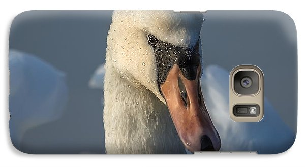 Galaxy Case featuring the photograph Purity In The Eyes by Rose-Maries Pictures