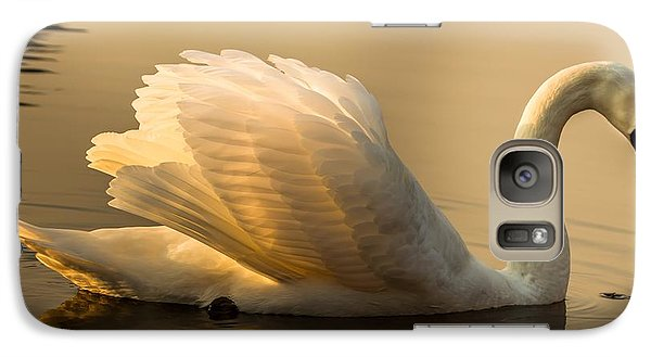 Galaxy Case featuring the photograph Purity Of The Soul by Rose-Maries Pictures