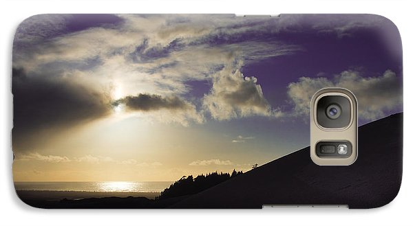 Galaxy Case featuring the photograph Purple And Shine by Adria Trail