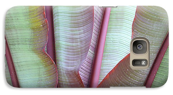 Galaxy Case featuring the photograph Purple Banana by Evelyn Tambour