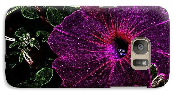 Galaxy Case featuring the photograph Purple Beauty by Garnett  Jaeger