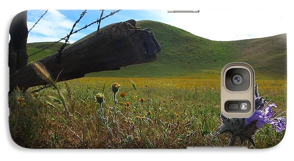 Galaxy Case featuring the photograph Purple Bloom by Paul Foutz