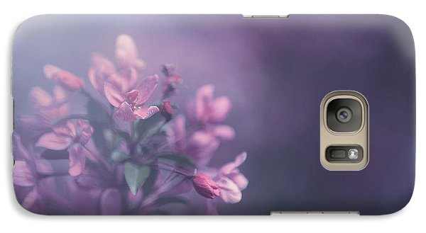 Flowers Galaxy S7 Case - Purple by Carrie Ann Grippo-Pike