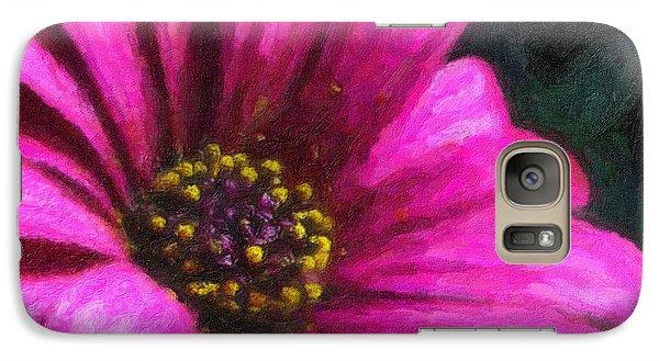 Galaxy Case featuring the digital art Purple by Chuck Mountain