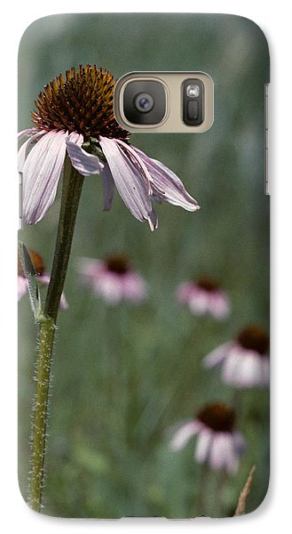 Galaxy Case featuring the photograph Purple Coneflower by Jeff Goulden