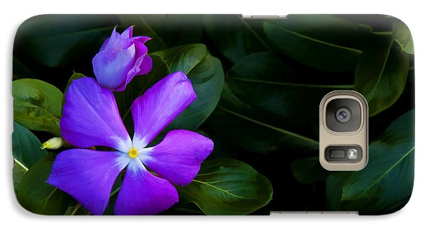 Galaxy Case featuring the photograph Purple by Don Durfee