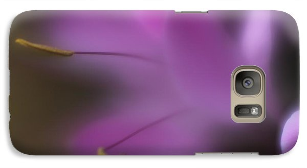 Galaxy Case featuring the photograph Purple Essence by Mary Lou Chmura