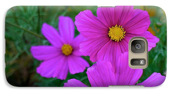 Galaxy Case featuring the photograph Purple Flower by Alex King