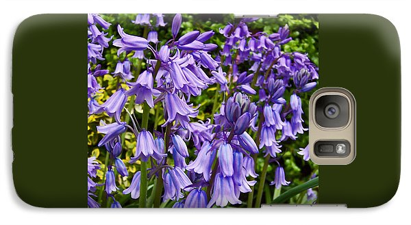 Galaxy Case featuring the photograph Purple Flowers by Gena Weiser