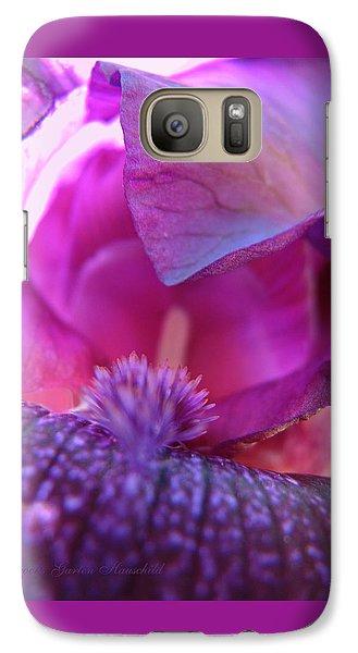 Galaxy Case featuring the photograph Purple Haze by Brooks Garten Hauschild