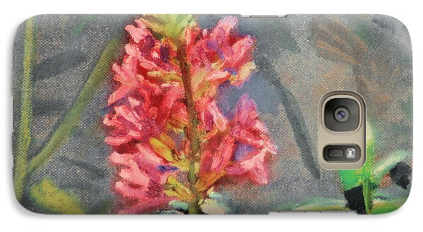 Galaxy Case featuring the painting Purple Loosestrife by Michael Daniels