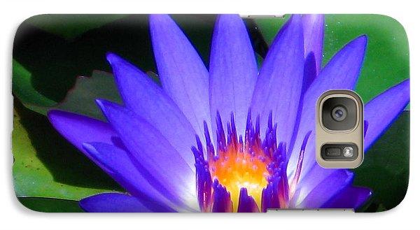 Galaxy Case featuring the photograph Purple Majesty by Oscar Alvarez Jr