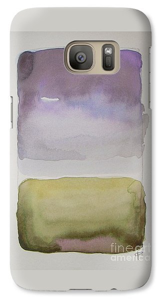 Abstract Galaxy S7 Case - Purple Morning by Vesna Antic