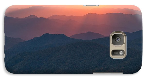 Galaxy Case featuring the photograph Purple Mountains Majesty by Doug McPherson