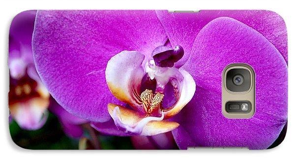 Purple Orchid Galaxy S7 Case