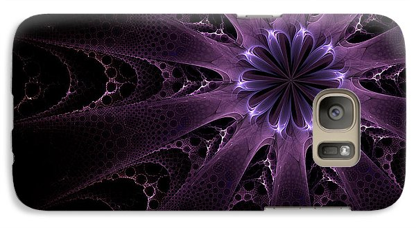 Galaxy Case featuring the digital art Purple Passion by GJ Blackman