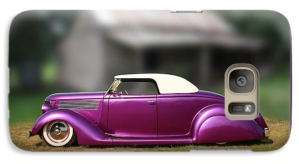 Galaxy Case featuring the photograph Purple Perfection by Keith Hawley