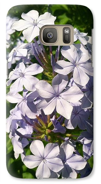 Galaxy Case featuring the photograph Purple Petals by Alohi Fujimoto