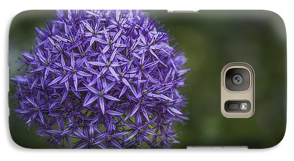 Galaxy Case featuring the photograph Purple Puff by Jacqui Boonstra