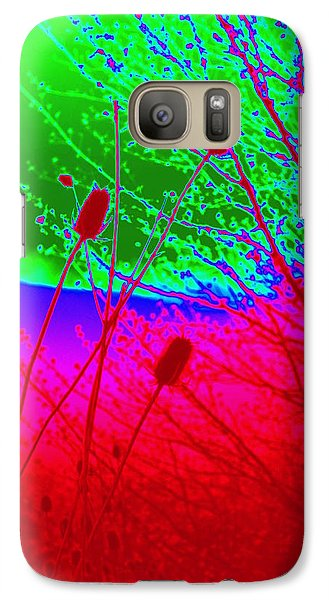 Galaxy Case featuring the photograph Pussy Willow Transformed by Cathy Shiflett