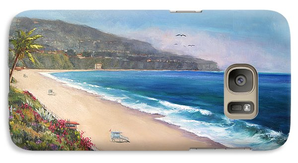 Galaxy Case featuring the painting P.v. View by Jennifer Beaudet