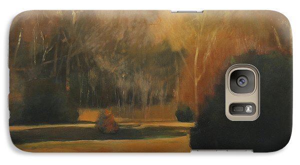 Galaxy Case featuring the painting Pyracantha by Cap Pannell
