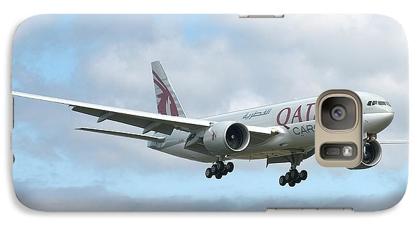 Galaxy Case featuring the photograph Qatar 777 by Jeff Cook