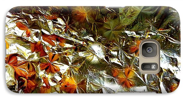 Galaxy Case featuring the digital art Quantum Blossoms by Steed Edwards