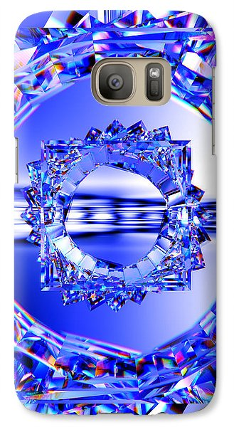 Galaxy Case featuring the digital art Quantum Light by Andreas Thust