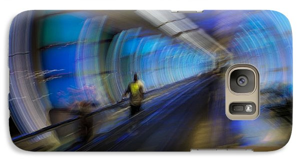 Galaxy S7 Case featuring the photograph Quantum Tunneling by Alex Lapidus