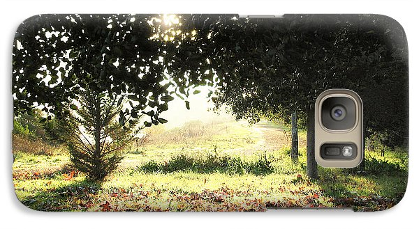 Galaxy Case featuring the photograph Quarry Lakes Sunrise by Ellen Cotton