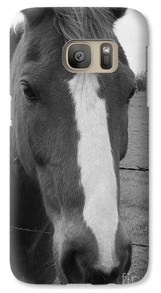 Galaxy Case featuring the photograph Quarter Horse by Jerry Bunger