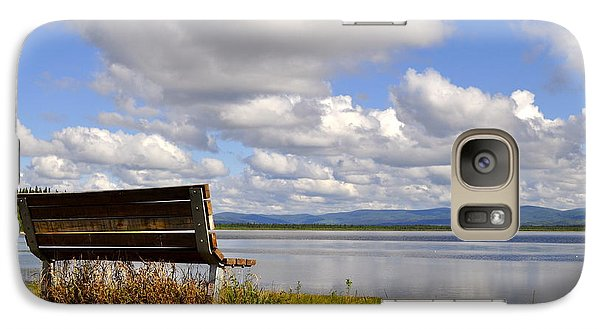 Galaxy Case featuring the photograph Quartz Lake by Cathy Mahnke
