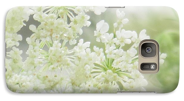 Galaxy Case featuring the photograph Queen  Anne Lace by France Laliberte