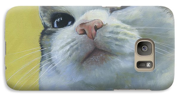 Galaxy Case featuring the painting Queen Maizy by Alecia Underhill