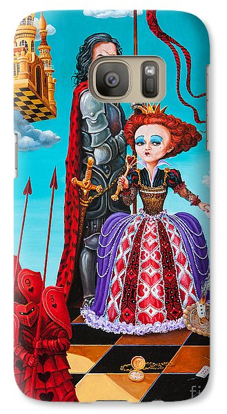 Queen Of Hearts. Part 1 Galaxy S7 Case