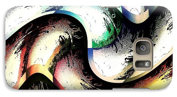 Galaxy Case featuring the digital art Queenly by Ann Calvo