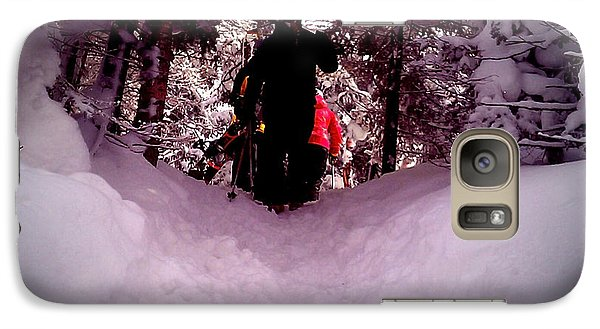 Galaxy Case featuring the photograph Quest For Powder by James Aiken