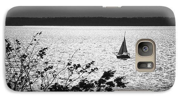 Galaxy Case featuring the photograph Quick Silver - Sailboat On Lake Barkley by Jane Eleanor Nicholas