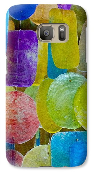Galaxy Case featuring the photograph Quiet Chime by Alice Mainville