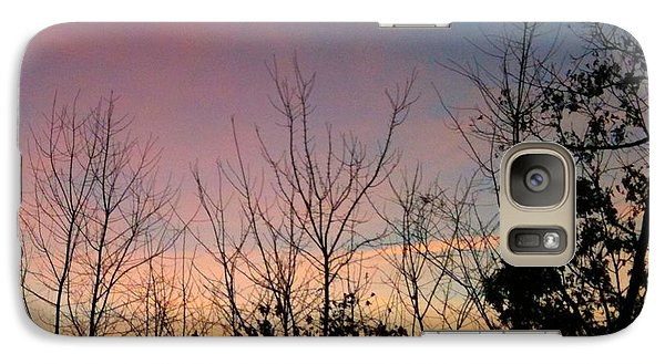 Galaxy Case featuring the photograph Quiet Evening by Linda Bailey
