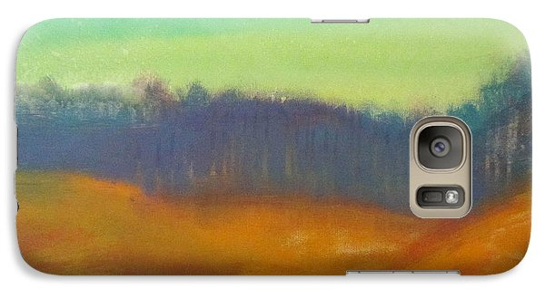 Galaxy Case featuring the painting Quiet by Keith Thue