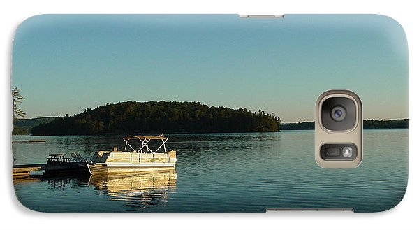Galaxy Case featuring the photograph Quiet Lake by Dorothy Maier