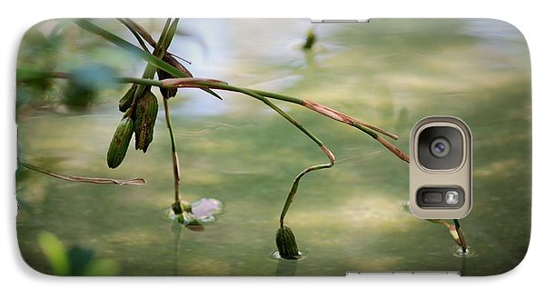 Galaxy Case featuring the photograph Quiet Moment by George Mount