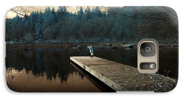 Galaxy Case featuring the photograph Quiet Moments  by Rebecca Parker