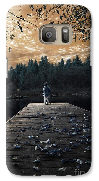 Galaxy Case featuring the photograph Quiet Moments Series by Rebecca Parker
