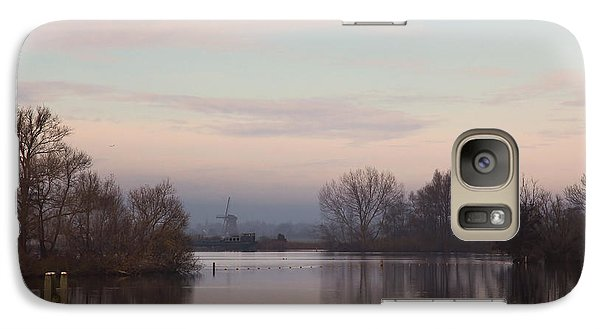 Galaxy Case featuring the photograph Quiet Morning by Annie Snel